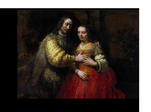 """Рембрандт Репродукция """" Рембрандт - Еврейская невеста"""" Х157.png"""