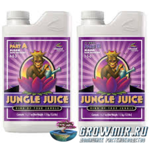 Advanced Nutrients Jungle juice 2-parts A & B Bloom