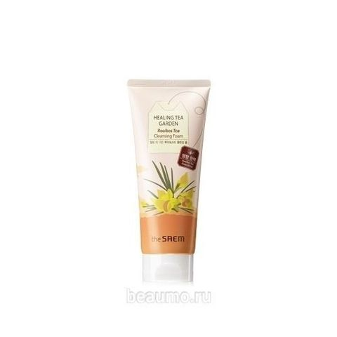 ПЕНКА ДЛЯ УМЫВАНИЯ THE SAEM HEALING TEA GARDEN ROOIBOS TEA CLEANSING FOAM, 170 мл