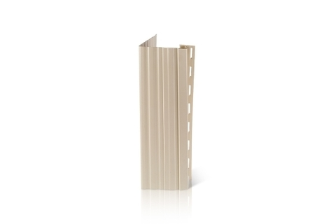 Фасадный декор Доломит - Околооконная планка Вертикальная Слоновая кость