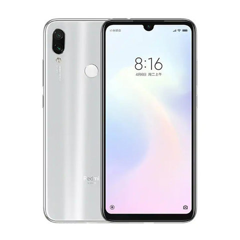 Смартфон Xiaomi Redmi Note 7 4/64Gb White EU (Global Version)