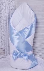 Набор на выписку из роддома Стиль (голубой)