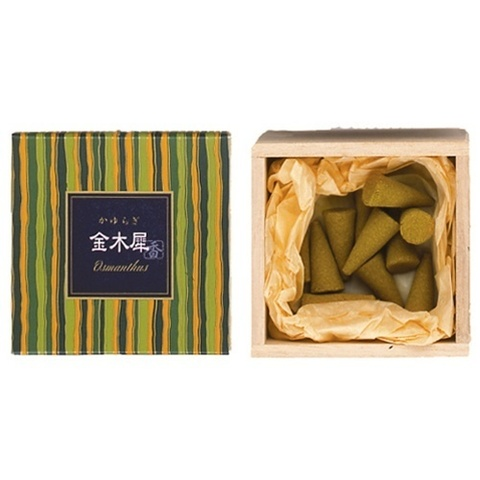 Японские благовония KAY Osmanthus cone (12 конусов)