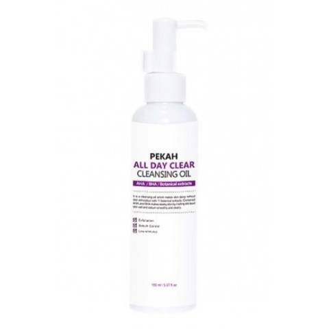 Pekah Гидрофильное масло All Day Clear Cleansing Oil, 150 ml