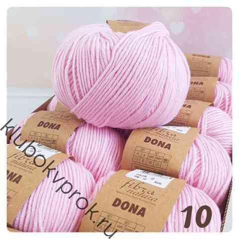 FIBRA NATURA DONA 106-10, Бледный розовый
