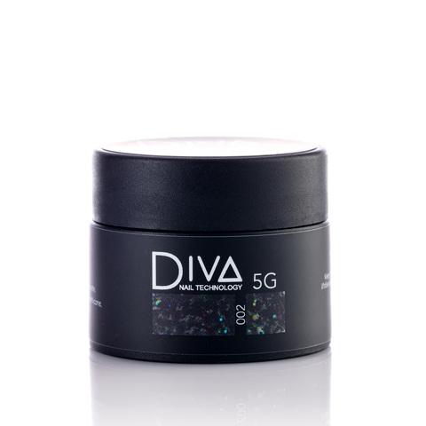 Гель-лак DIVA Glitter Gel 002 5г