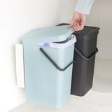 Набор ведер для мусора SORT&GO 16л (2шт), артикул 110023, производитель - Brabantia, фото 4