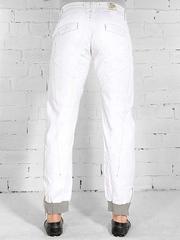 WY010 джинсы мужские. белые
