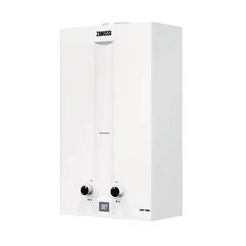Водонагреватель газовый проточный Zanussi GWH 12 Fonte Turbo (цвет белый)