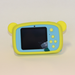 Фотоаппарат детский SmileZoom Мишка с селфи-камерой / 20 Мп / Желтый