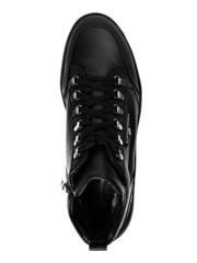 Высокие кожаные кроссовки Luca Guerrini 10376 на меху