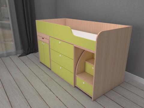 Кровать Малыш 4