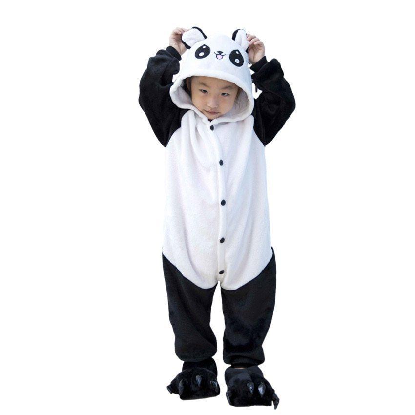 Уценка Веселая панда детская. Дефект: дырка и грязь Kigurumi-Winter-Anime-Panda-Pajamas-For-Kid-Children-Unisex-Hoodie-Cotton-Anime-Flannel-Pijama-B.jpg