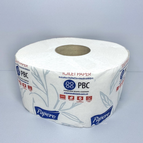 Туалетная бумага Papero Джамбо 2сл. 60 м (TJ036)