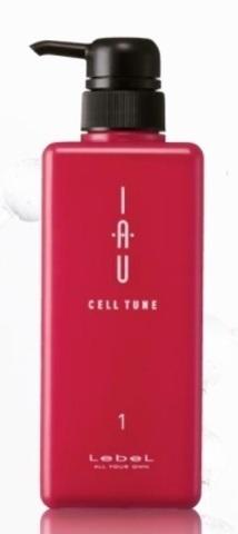 Мусс для увлажнения кожи головы и волос IAU CELL TUNE, 1000 мл.