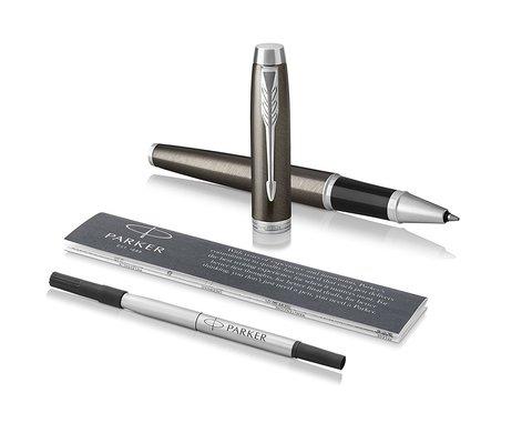 Набор с чехлом: Ручка роллер и Шариковая ручка Parker IM Core Dark Espresso CT123
