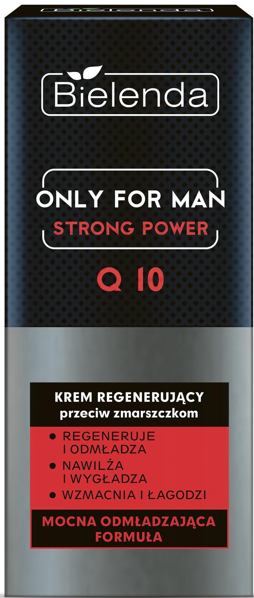 ONLY FOR MEN Регенерирующий крем STRONG POWER 50мл