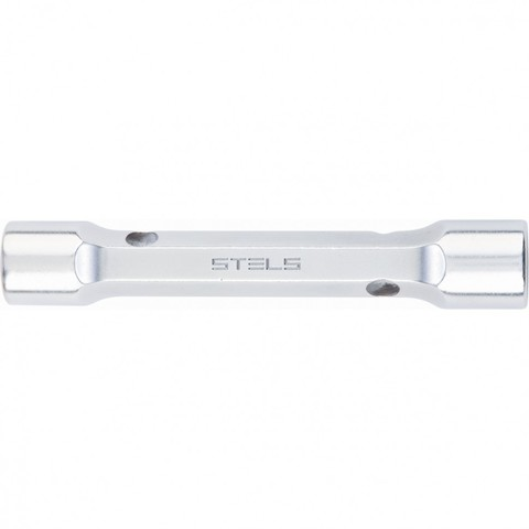 Ключ трубка торцевой усиленный, 18 х 19 мм, CrV Stels