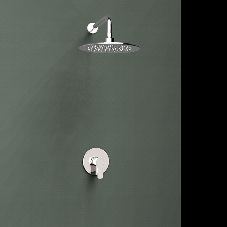 Встраиваемый смеситель для душа с душевым комплектом TITANIUM K1818013 на 1 выход