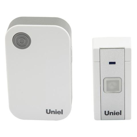 UDB-091W-R1T1-36S-WH Звонок электронный, 220В. 36 мелодий. Блистер. Белый. ТМ Uniel