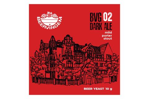 Дрожжи пивные для темного пива Dark Ale BVG-02, 10 г