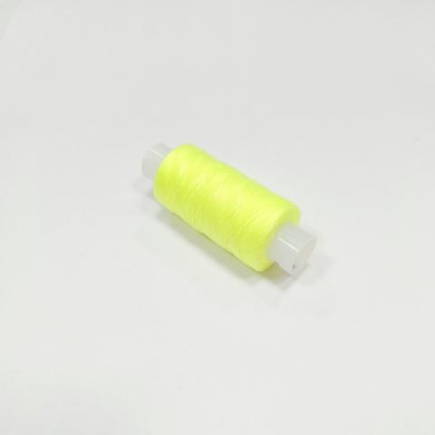 Нитки швейные 40ЛШ. Цвет Желтый неоновый