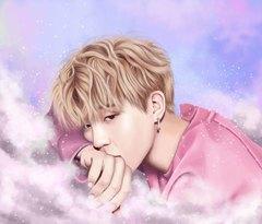Kətan Tablo / Картина - BTS 3