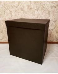 Коробка для шаров (Черная) 60*60*60 см.