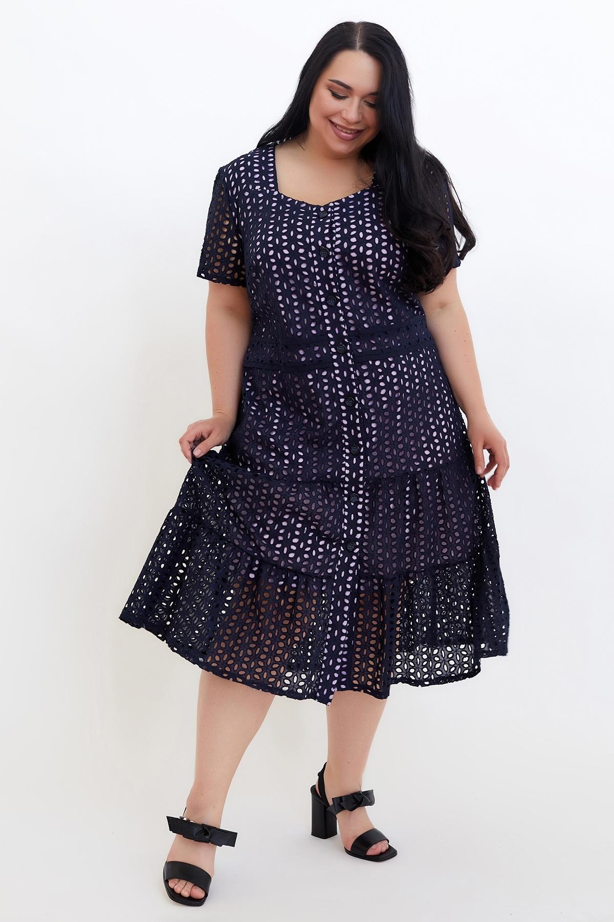 Сукня Віолетта (Виолетта)(синий-сирень),прошва