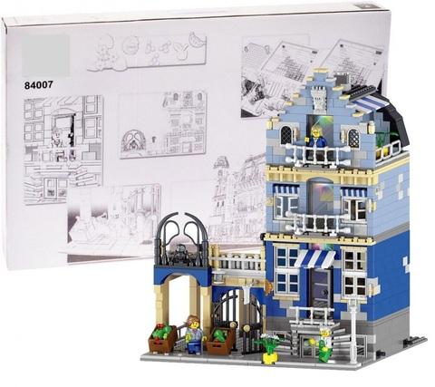 Конструктор King Factorys 84007/180063 Торговая улица