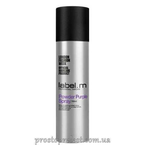 Label.M Powder Purple Spray - Спрей-пудра для волос Фиолетовая