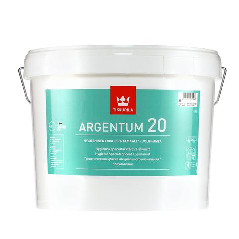 Tikkurila Argentum 20/Тиккурила Аргентум 20 антимикробная водоразбавляемая краска