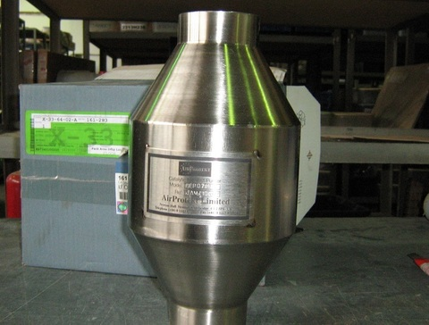 Нейтрализатор / CATALYTIC CONV АРТ: 161-283