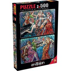 Puzzle Renkli Notalar. Colorful Notes 2 x 500 pcs