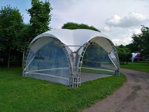 Арочный шатер 6х6 «Дюна»