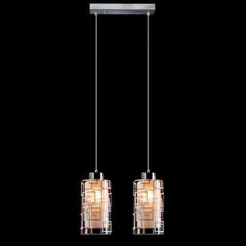 Подвесной светильник 50002/2 хром