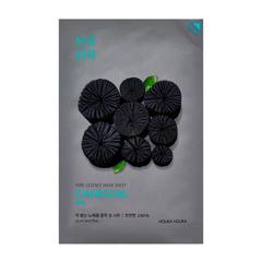 Сужающая поры тканевая маска Holika Holika Пьюр Эссенс, древесный уголь