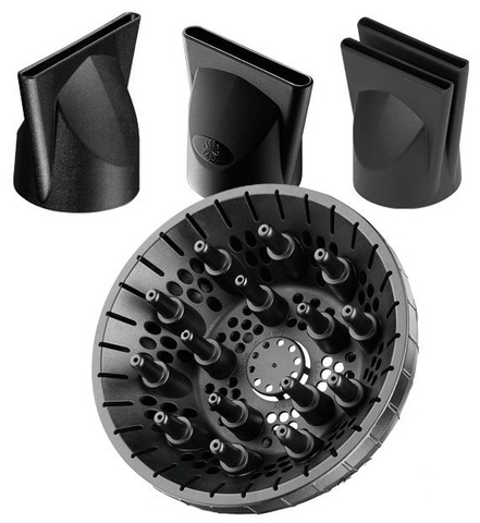 Фен Babyliss Pro Stelatto Digital, 2400 Вт, 3 насадки+ глушитель, диффузор