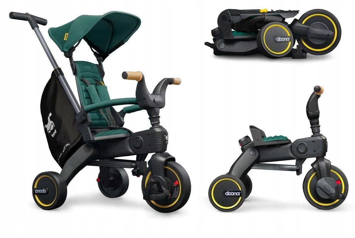 Doona Складной велосипед Liki Trike S5, Racing Green
