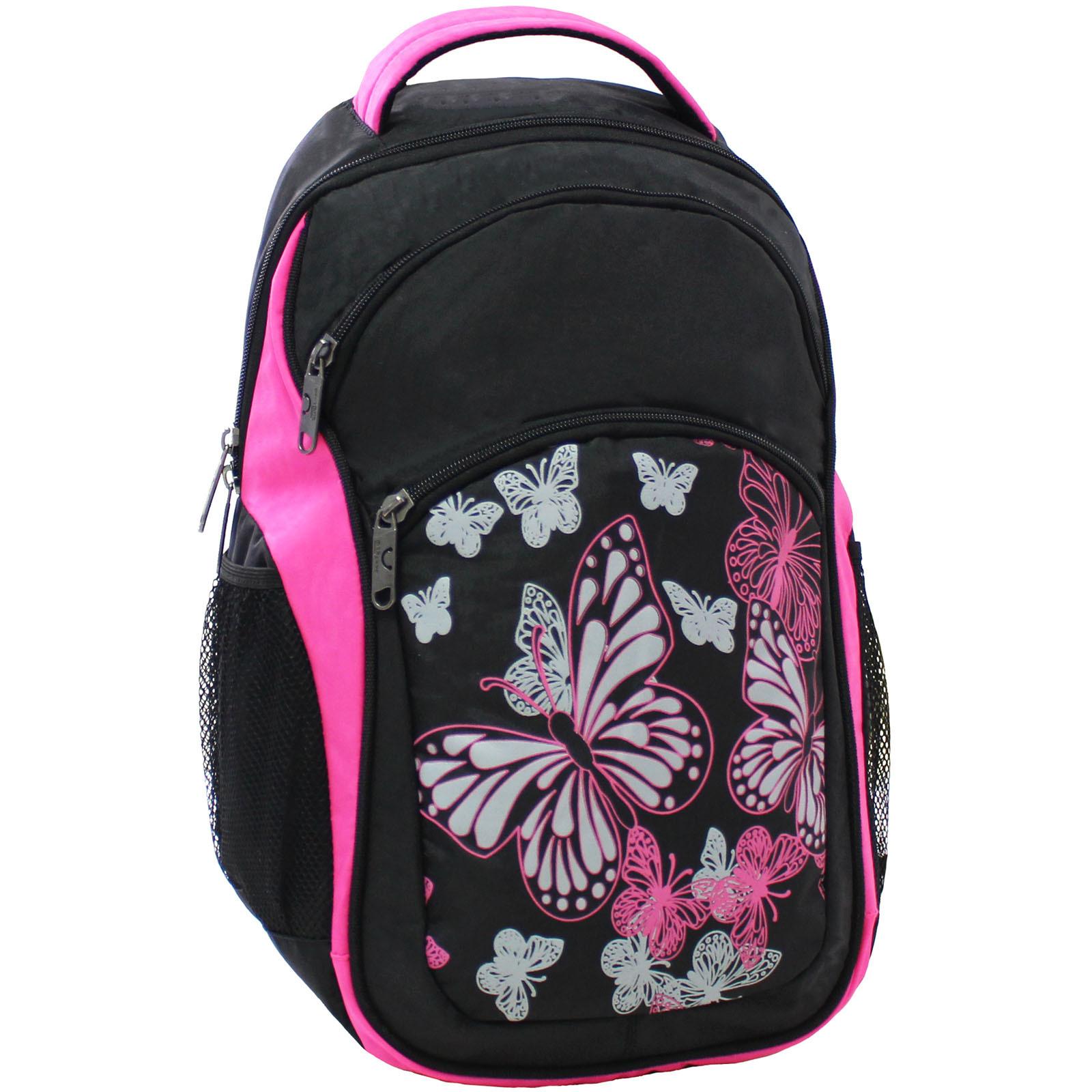 Городские рюкзаки Рюкзак Bagland Лик 21 л. Чёрный / розовый (0055770) IMG_6542.JPG