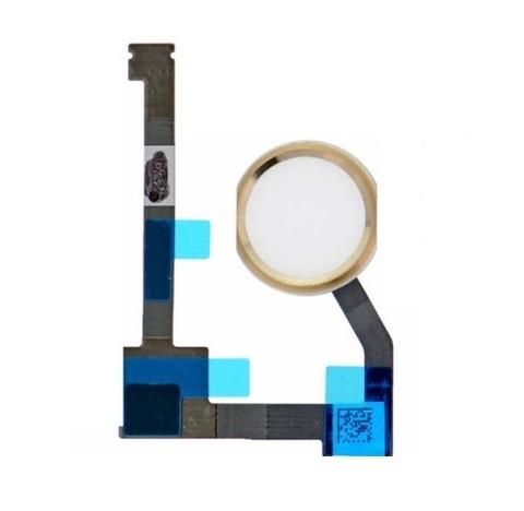 Flex Cable Home Button for Apple iPad Air2 A1566 A1567 / iPad Mini4 Gold Orig