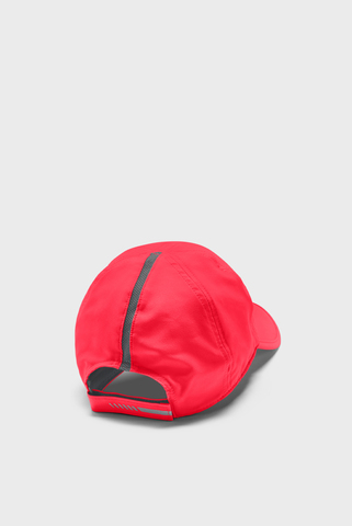 Красная кепка UA Run Shadow Cap-RED Under Armour