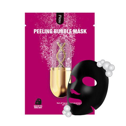 no:hj Home Aesthetic Peeling Bubble Mask Pack Очищающая пилинг-маска