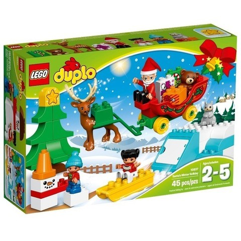 LEGO Duplo: Новый год 10837 — Santa's Winter Holiday — Лего Дупло