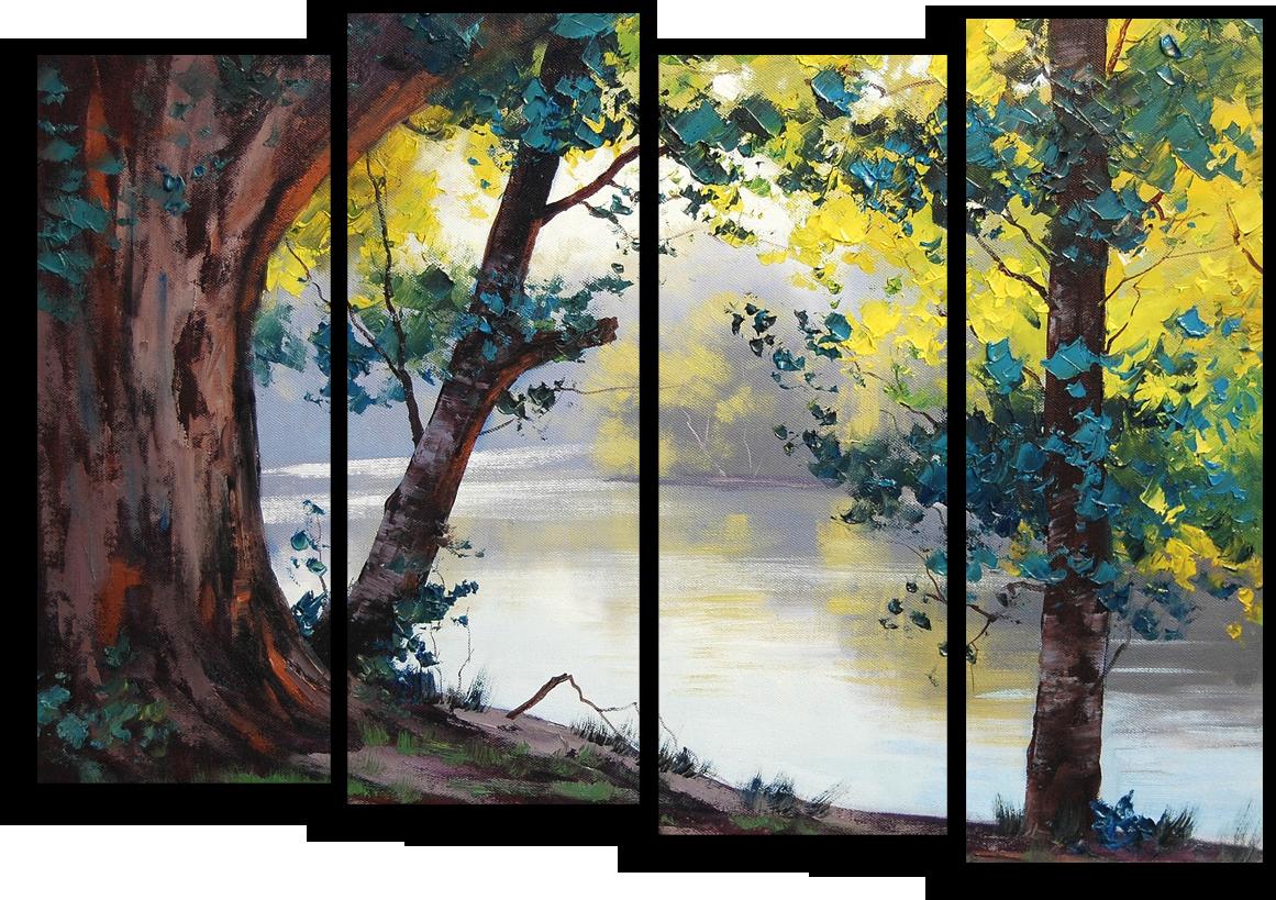 """Природа Модульная картина """"Спокойствие природы"""" М481.png"""