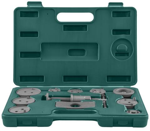AN010001 Комплект инструмента для развода поршней тормозных цилиндров, 11 предметов