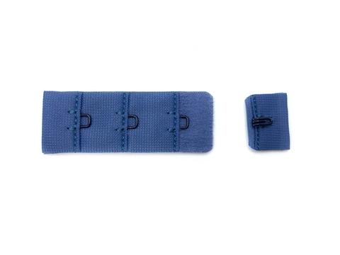 Застежка с крючками сине-голубая 1 ряд (цв. 141)