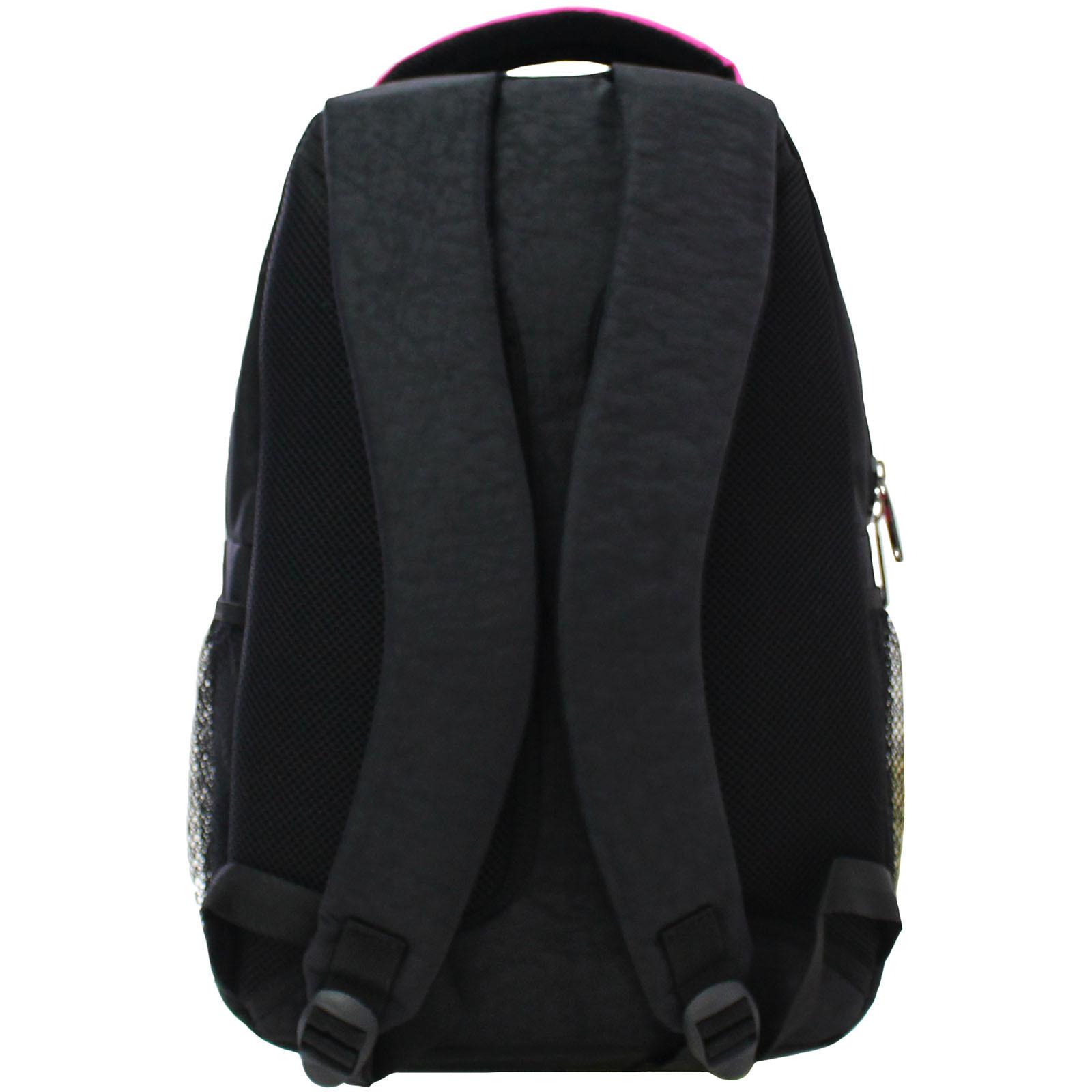 Рюкзак Bagland Лик 21 л. Чёрный / розовый (0055770) фото 3