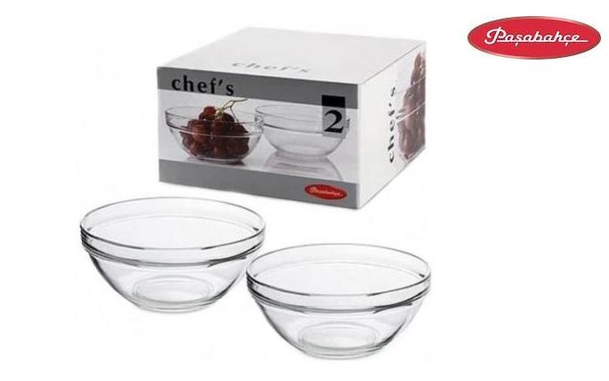 Набор салатников без крышки Pasabahce Chefs 53573  2 предмета