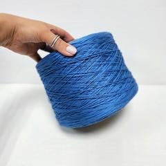Cordonetto, Хлопок 100%, Насыщенный сине-голубой, мерсеризованный, 250 м в 100 г